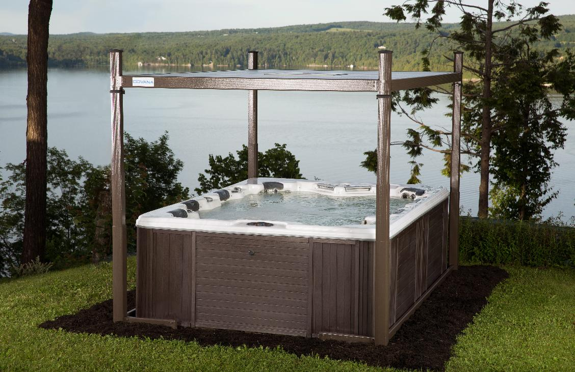 covana automated hot tub cover open